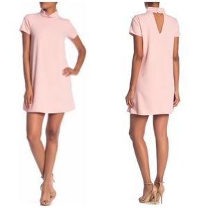 Amanda Uprichard Conor Dusty Rose Dress